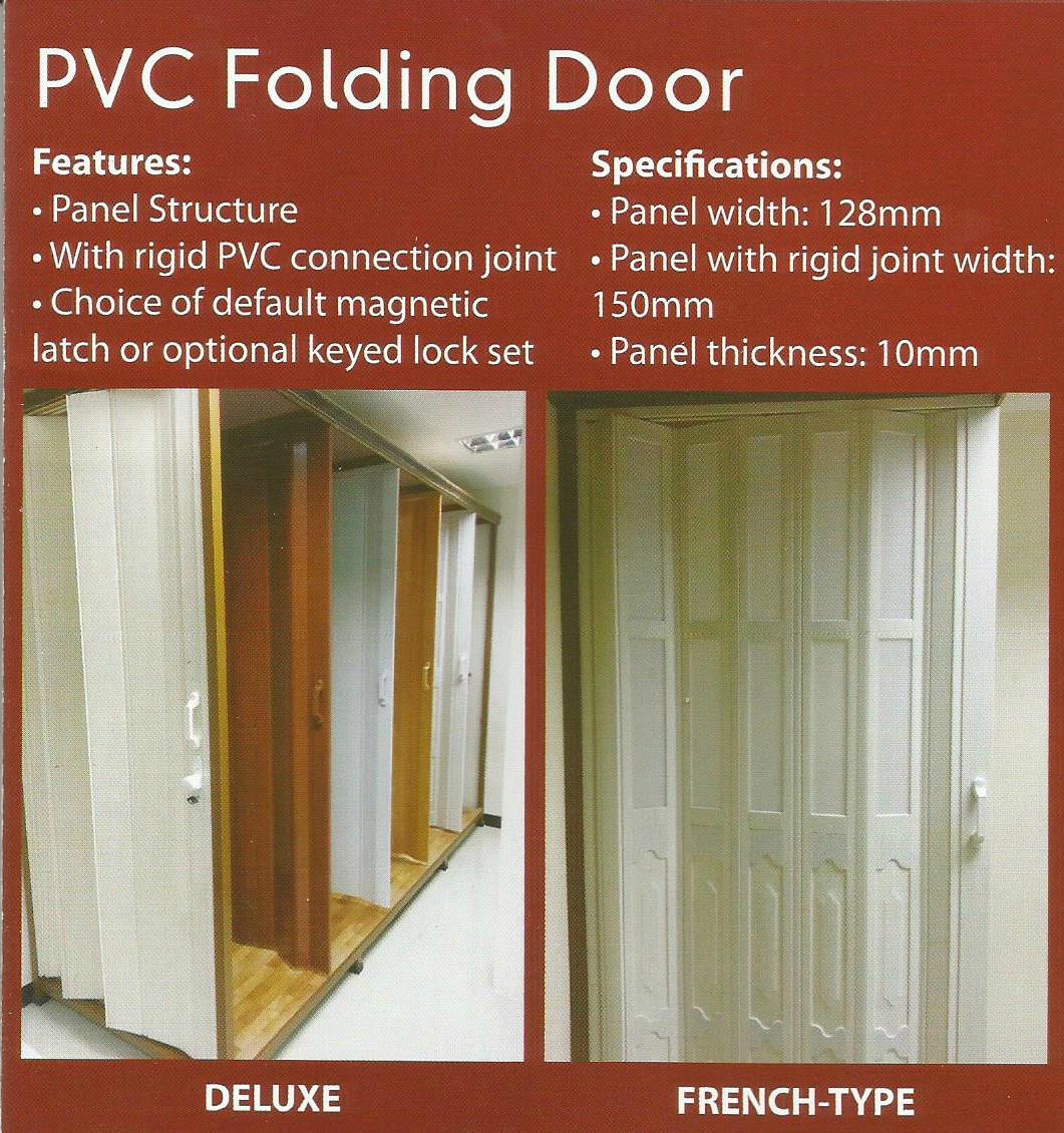 PVC Folding Door – W2 WALLS & WINDOWS